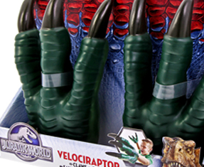 New: Jurassic World toys