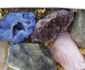 Unique mineral pieces