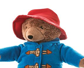 Paddington Bear movie merchandise