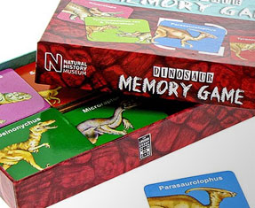 Dinosaur games and puzzles