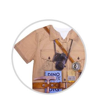 Dinosaur fashion