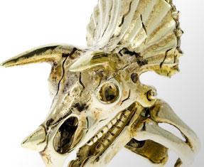 Skull-themed jewellery