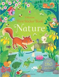 First Sticker Book Nature (First Sticker Books)