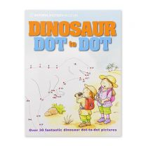 The Natural History Museum Dinosaur Dot-to-dot book