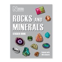 The Natural History Museum Rocks and Minerals Sticker Book
