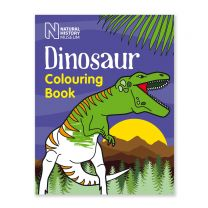 The Natural History Museum Dinosaur Colouring Book