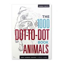 The 1000 Dot-to-Dot book: Animals Twenty Incredible Creatures to Complete Yourself