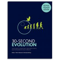 30-Second Evolution: The 50 most significant ideas and events, each explained in half a minute