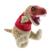 T. rex soft toy in Museum t-shirt