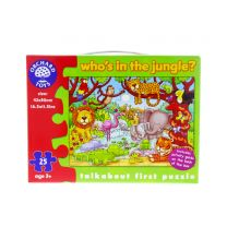Who's in the Jungle jigsaw puzzle 25 pieces