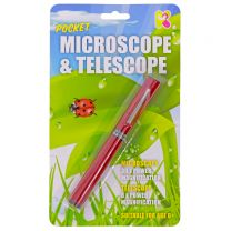 Pocket telescope and microscope