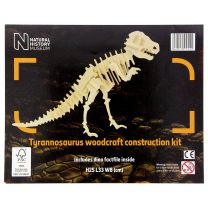 NHM wooden T-Rex construction kit