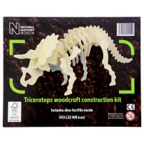 NHM wooden Triceratops construction kit