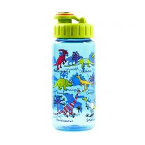 Blue dinosaur drinks bottle