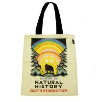 Vintage design Natural History Museum book bag