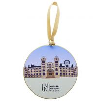 Museum building Christmas souvenir decoration