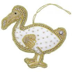 Handmade dodo Christmas decoration