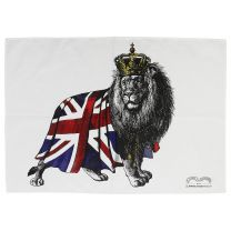 King of the jungle tea towel