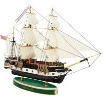 Scale model of the HMS Beagle