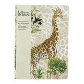 A5 giraffe design notebook