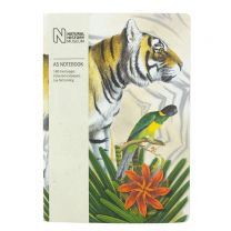 A5 Bengal tiger design notebook