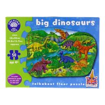 Big dinosaurs jigsaw puzzle 50 pieces