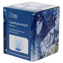 Sapphire blue crystal growing kit