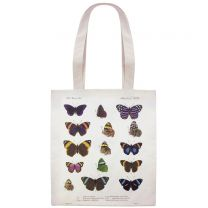 Large butterflies tote bag