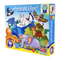'Where do I live?' game