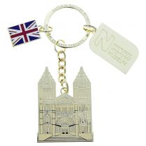 Museum Entrance Keyring