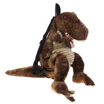 T. rex soft toy backpack
