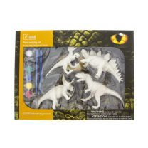 Dinosaur paint and play set