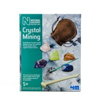 Museum crystal mining kit