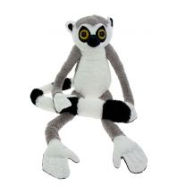Jumbo ring-tailed lemur soft toy