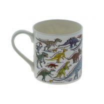 Picturemaps dinosaurs fine bone china mug