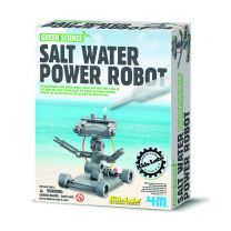 Salt water robot science activity kit
