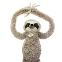 Jumbo sloth soft toy