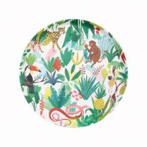 Bodil Jane illustrated tropical bamboo tray