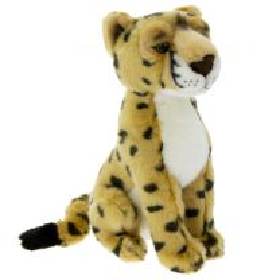 Cheetah soft toy