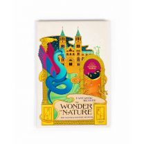 MinaLima design fridge magnet:  Fantastic Beasts™:  The Wonder of Nature