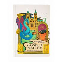 MinaLima design A5 notebook:  Fantastic Beasts™:  The Wonder of Nature
