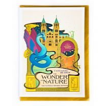 MinaLima design foiled notecard:  Fantastic Beasts™:  The Wonder of Nature