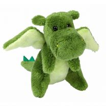 Green baby dragon soft toy