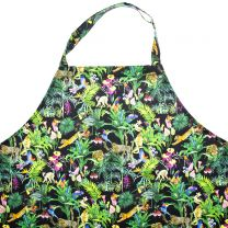 Devans Jungle apron made with Liberty Fabric