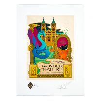 Limited Edition MinaLima Print:  Fantastic Beasts™:  The Wonder of Nature