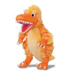 Dinosaur Boo! The Deinonychus soft toy