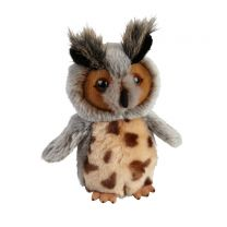 Eagle owl soft toy