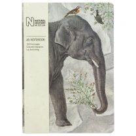 A5 elephant design notebook