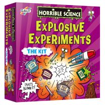 Horrible Science Explosive Experiments kit
