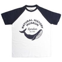 Natural History Museum baseball T-shirt for adults